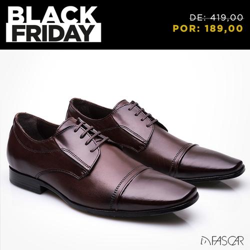 55cd63904 Sapato em couro com tecnologia AIRTECH de absorção de impacto e 50% OFF!  goo.gl qnHC47  blackfriday
