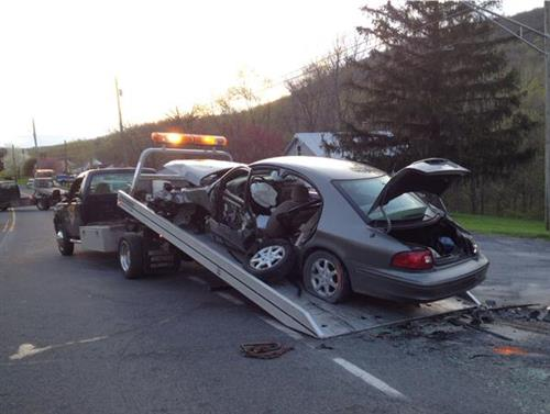 Waynesboro Pike crash