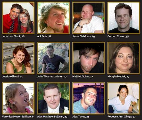 Colorado Shooting Victims: Live: Colorado Theater Shooting Trial