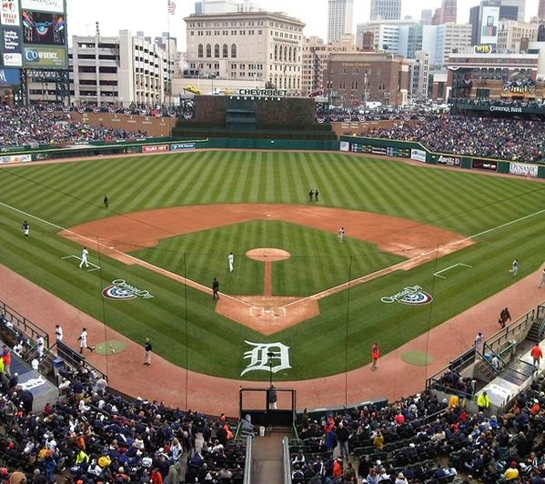Comerica Park Detroit Michigan: Replay: 2015 Opening Day Activities From Comerica Park