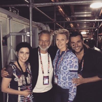 Mans zelmerlow och edward af sillen kommenterar eurovision