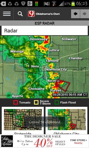 Oklahoma Severe Weather Coverage | Page 1334