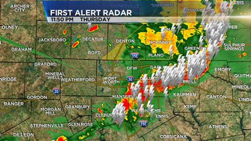 dfw weather radar live