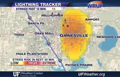 Interactive Storm Track Radar Uf Weather Center