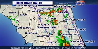 Weather Map Ocala Fl.Interactive Storm Track Radar Uf Weather Center