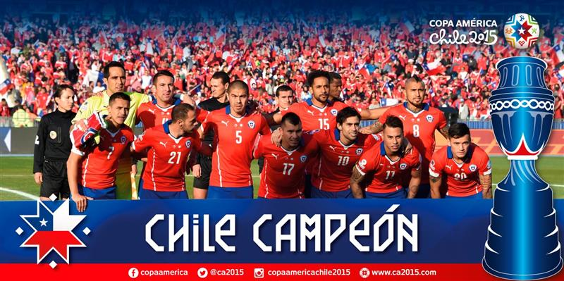 Сборная Чили выиграла Кубок Америки