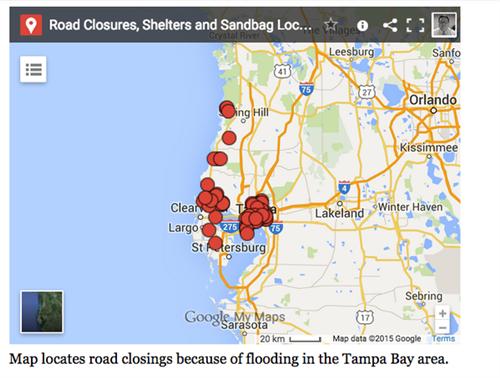 Live blog Tampa Bay record rain brings flooding thunderstorms
