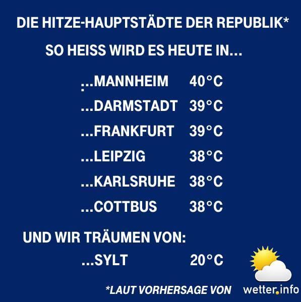 Wetter Im Liveblog Warnungen Der Uwz Hitzewelle Bricht Rekord
