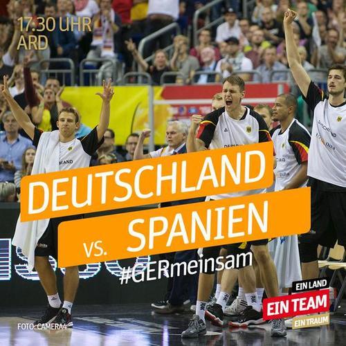 basketball deutschland spanien