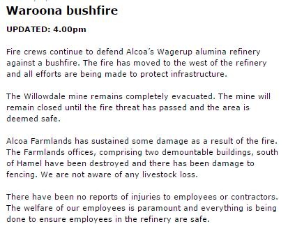 Waroona bushfire | Page 4