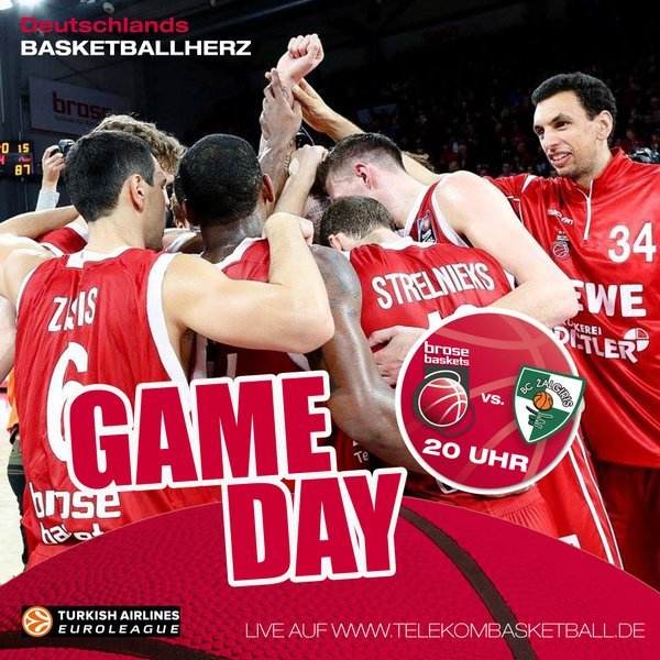 brose baskets live