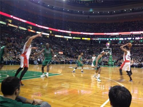 Rt Brettlubarsky At The Celtics Game W Dad Wow Amazing Seats Http Pbs Twimg Com Media Bfrm3 Mcqaixq6p Jpg Millioncelticsfans