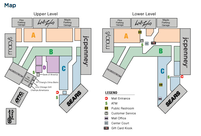 Map Of Columbia Mall Map of the Columbia Mall. Police say shooting happ