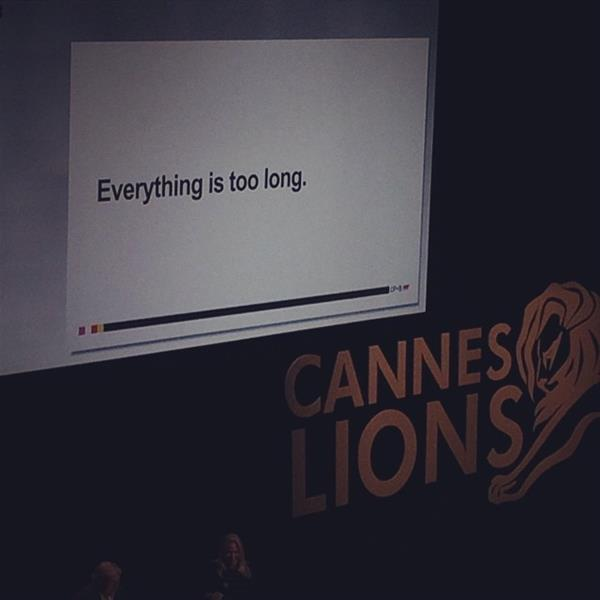 Content Marketing Strategies | CMOverheard: Cannes Lions