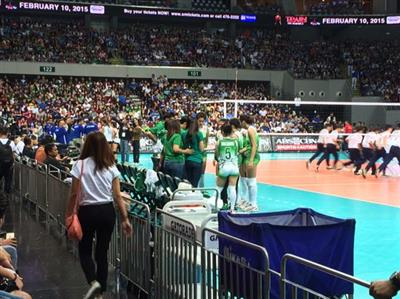 HIGHLIGHTS: Ateneo vs La Salle (UAAP 77 Volleyball 2nd round)