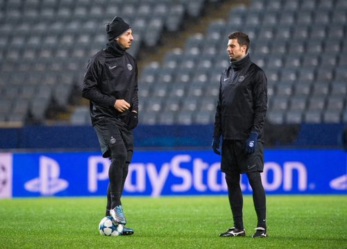 Zlatan redo for champions league