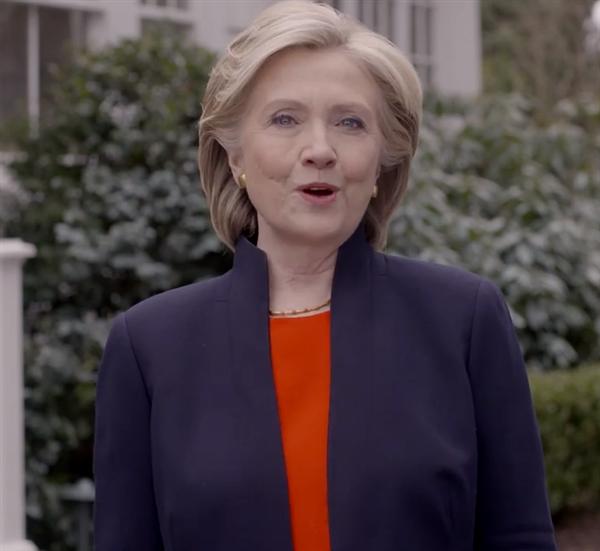 Clinton staller upp i presidentvalet 2016