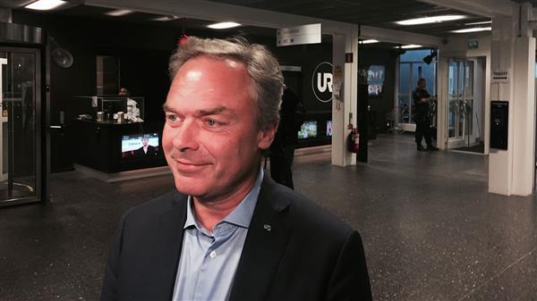 ...och här kommer Jan Björklund (FP). Foto: SVT