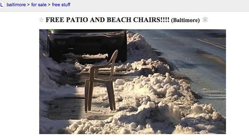 The Best Craigslist Free Stuff Baltimore  Images