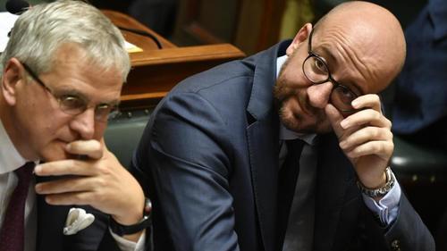 Kris Peeters et Charles Michel. © Belga
