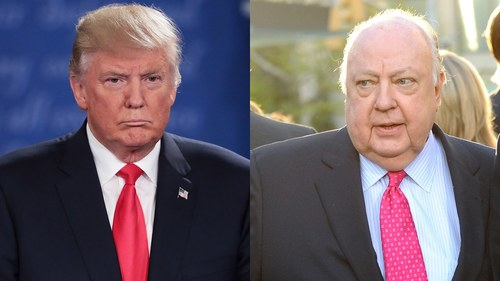 Image result for ailes trump