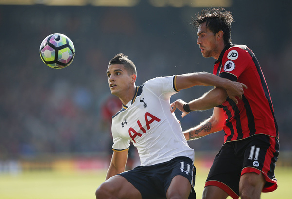 Tottenham's Moussa Sissoko charged by FA over elbow on Bournemouth's Harry Arter