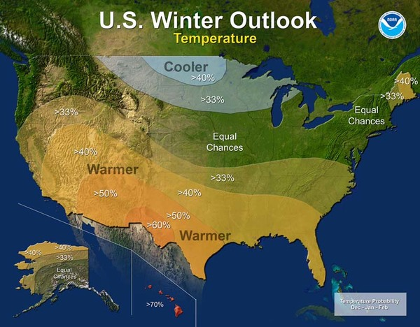 2016 winter outlook - temperature