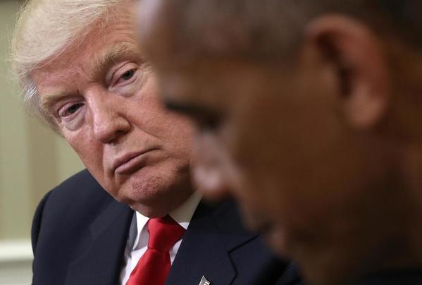 Donald Trump reçu par Barack Obama, voici les premières réactions des deux présidents en direct
