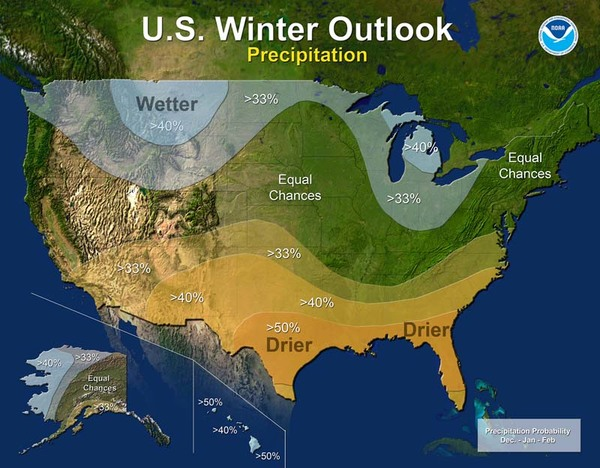 2016 winter outlook - precipitation