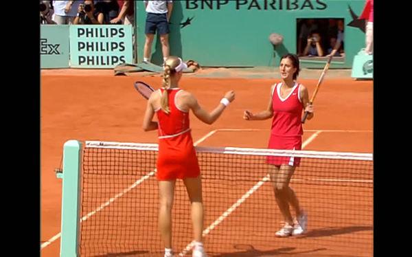 2004 Roland-Garros final, Myskina d. Dementieva