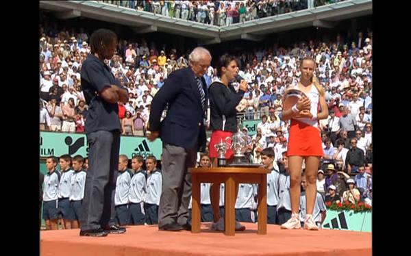 2004 Roland-Garros champion : Anastasia Myskina