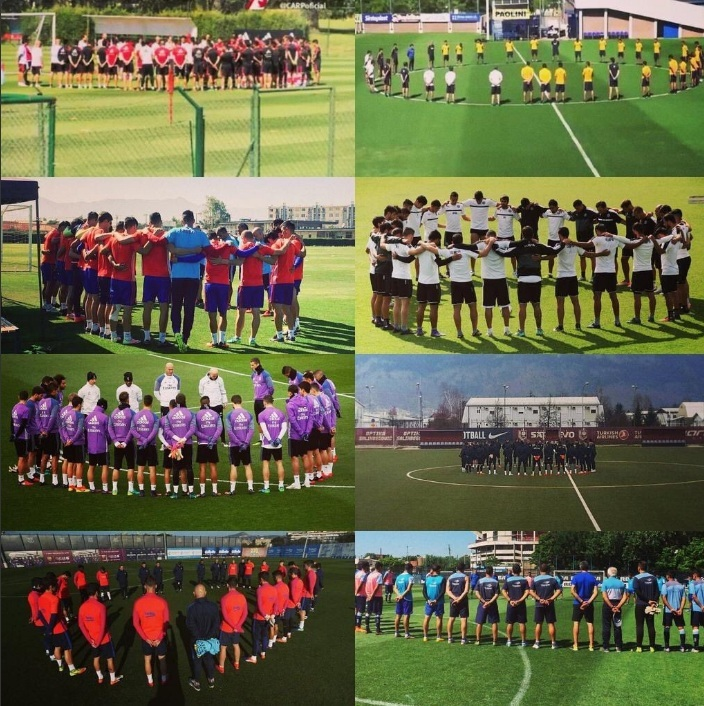 La afectación en el mundo del deporte, sobre todo en el fútbol, ha sido enorme y muchos equipos se han sumado al luto por el Chapecoense.
