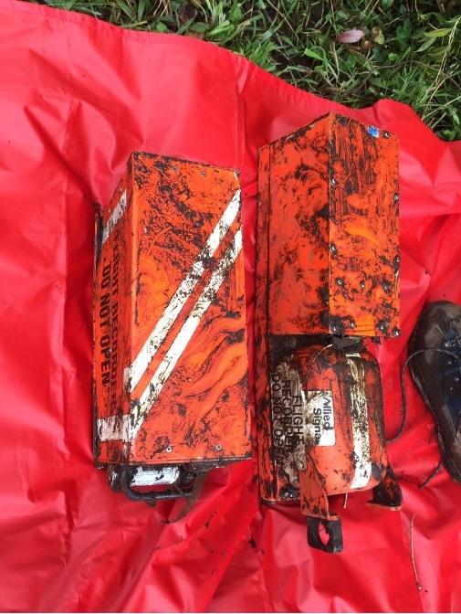 Las 2 cajas negras del avión de la compañía LaMia siniestrado en Antioquia