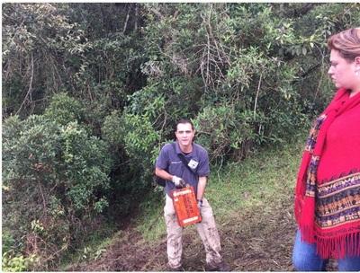 Se han encontrado las dos cajas negras del avión siniestrado en Colombia por personal de seguridad de Aerocivil