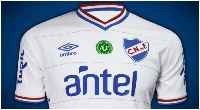 El Nacional de Montevideo ha comunicado que disputará su próximo partido con el escudo del Chapecoense en su camiseta como homenaje