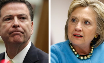 Image result for clinton and comey