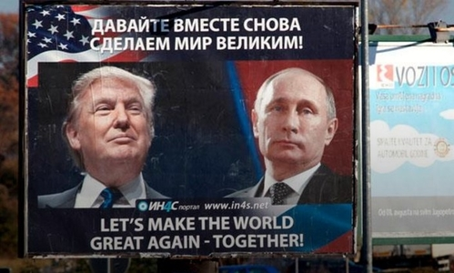Image result for photo trump and putin montenegro