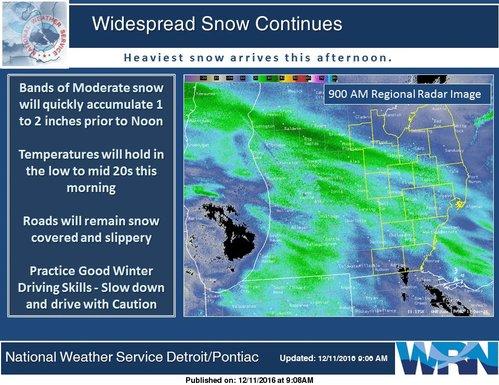 Live: Detroit, Michigan weather, radar and traffic updates