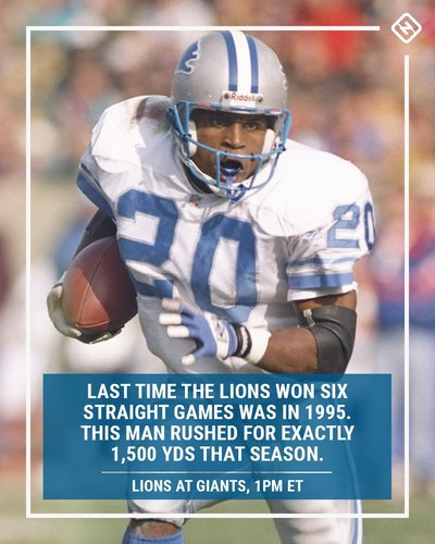 54fdb40d8ed The Lions have won 5 straight games for the first time since 2011. Last  time they won 6 straight