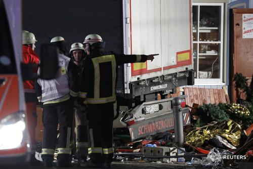 Hasil gambar untuk Truck, Berlin, Reuters