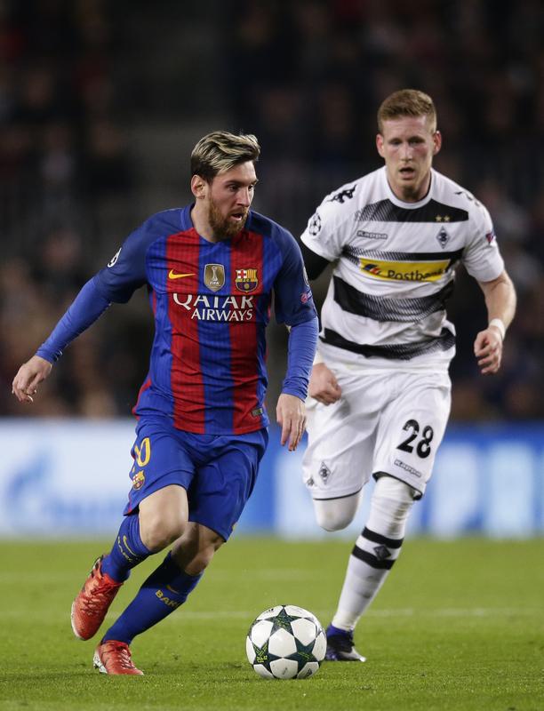 Messi ya ha marcado el 1-0 FOTO: AP