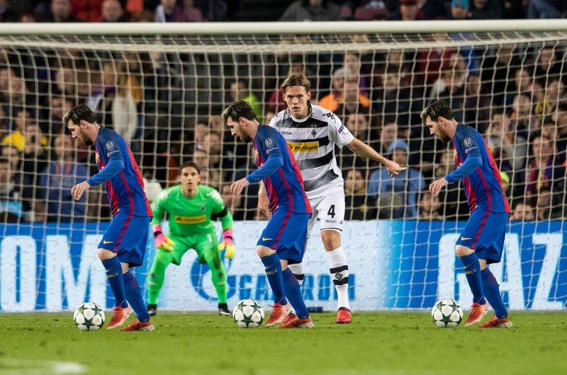 ¿Verá así Vestergaard a Messi? FOTO: @borussia_en