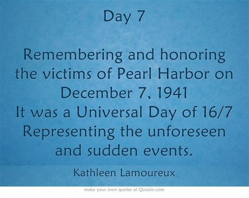 pearl harbor remembrance day page