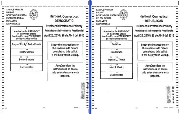 Connecticut Primary Day Election Results