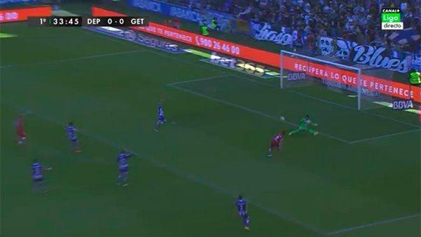 Deportivo getafe en vivo online hoy liga bbva for En fuera de juego online