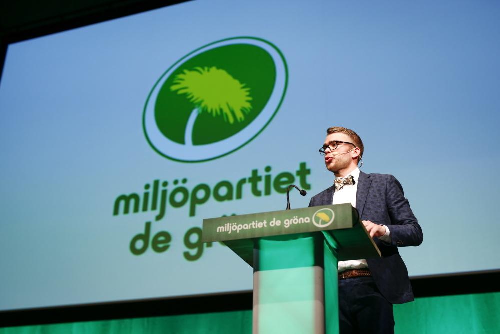 Anders Wallner, avgående partisekreterare. Foto: TT.