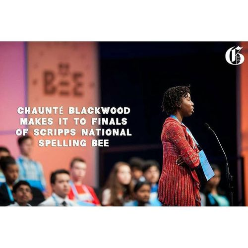 Has made it to the finals of the scripps national spelling bee