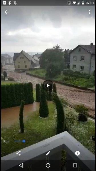 Unwetter Trifft Baden Württemberg Schwer