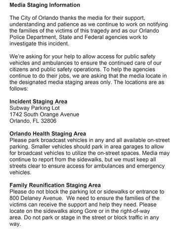 Breaking Coverage Of The Pulse Nightclub Shooting In Orlando Florida