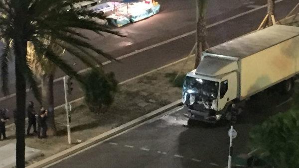 Fordonet uppges vara det som den misstänkte gärningsmannen körde.